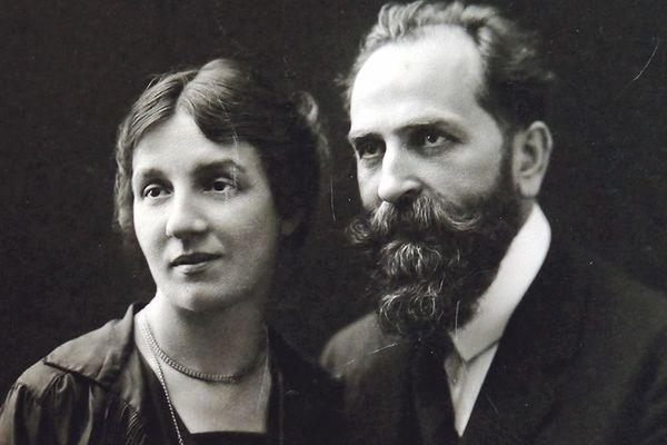 Jeanne et Maurice Leenhardt.