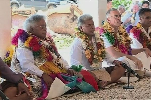 Lino Leleivai devient le 36ème roi de Alo à Futuna