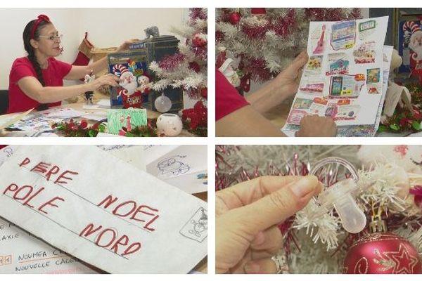 Lettres au père Noël traitées par l'OPT, 21 décembre 2018
