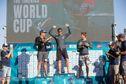 Nicolas Goyard, roi en Galilée, à la Coupe du monde de windsurf PWA