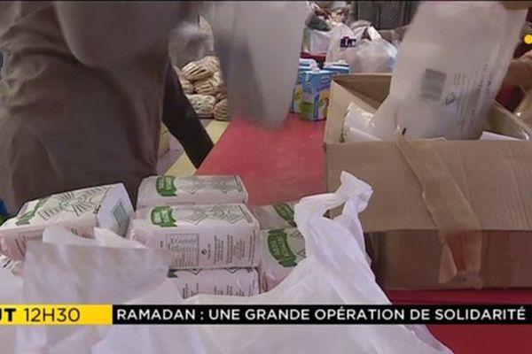 Colis alimentaires pour Ramadan