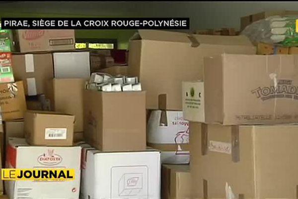 Neuf tonnes de dons à destination des sinistrés de la cote Est
