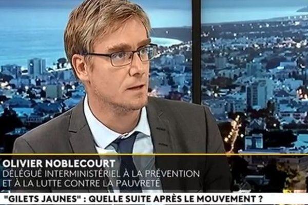 Olivier Noblecourt délégué interministériel à la prévention et à la lutte contre la pauvreté 141218