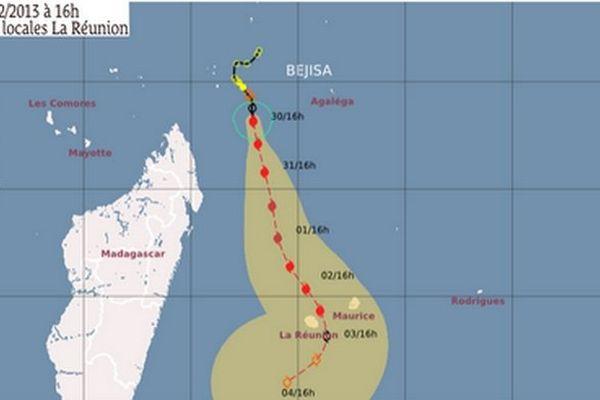 Béjisa est cyclone tropical