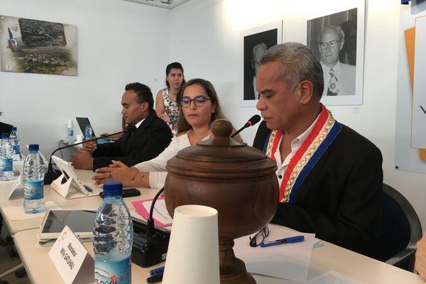 Gatuhau Païta élu maire 4 juillet 2020