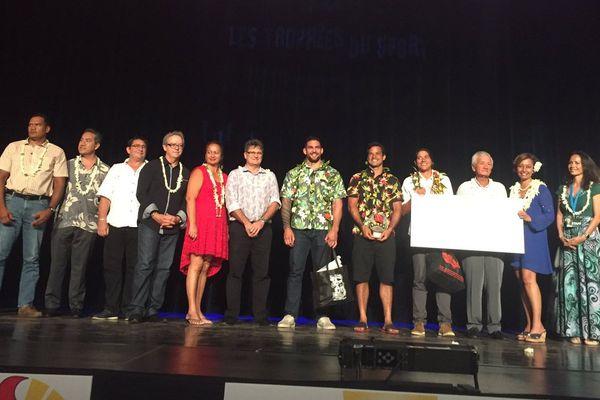 Et les lauréats des Trophées du sport 2017 sont...