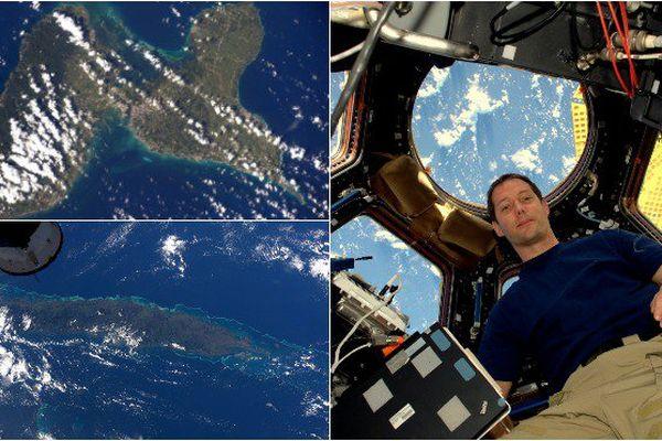 Les Outre-mer vues de l'espace grâce aux photos de l'astronaute Thomas Pesquet