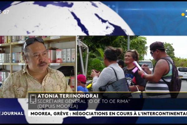 Les négociations se poursuivent à l'Intercontinental de Moorea