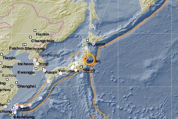 séisme au japon 13 février 2021