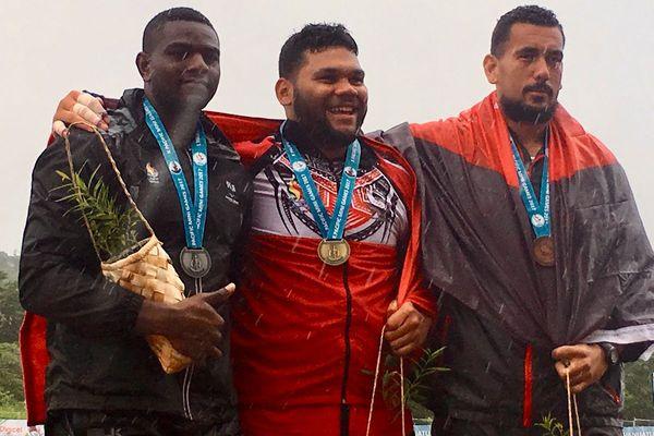Selevasio Vala'o double médaillé d'athlétisme