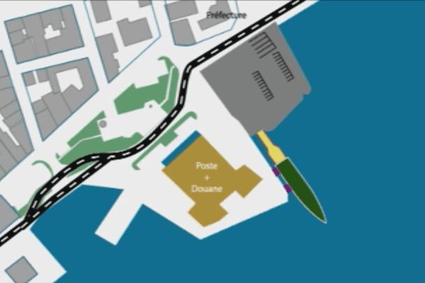 quai provisoire ferries