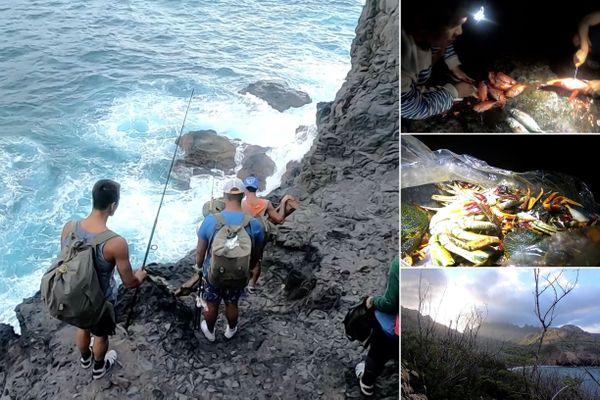 Ua Pou : la tradition de la pêche sur les rochers