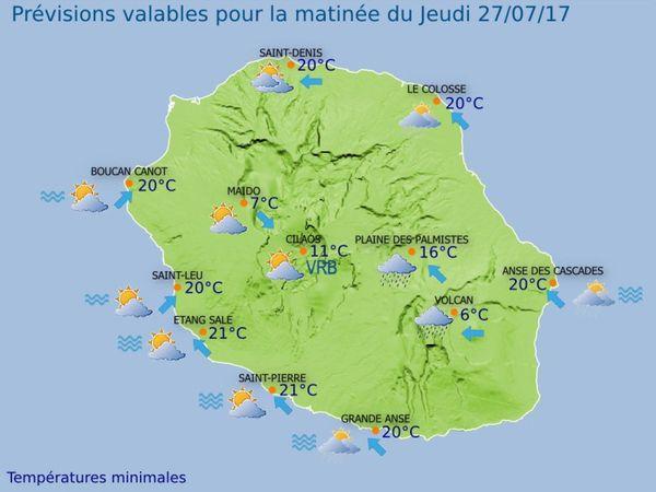 20170726 Carte météo matin