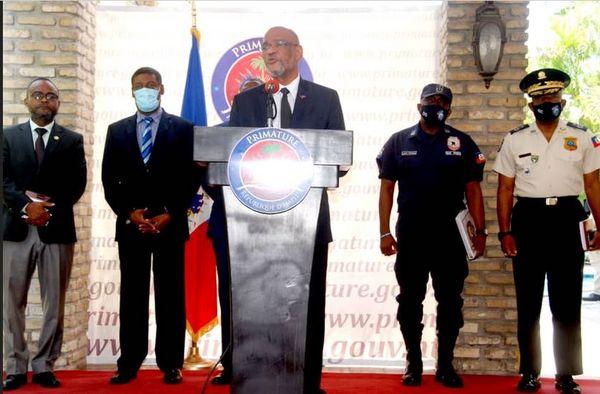 Haïti conférence de presse police/premier ministre