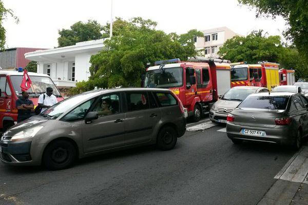 Mobilisation pompiers