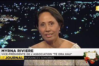 invitée du journal:  Myrna Rivière qui est vice pdte de l'association Te ora hau