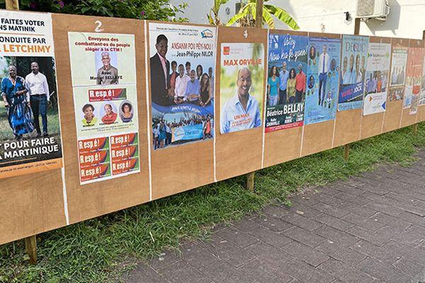 Campagne des élections territoriales juin 2021