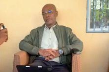 Anissi Chamsidine, gouverneur d'Anjouan arrivé mercredi à Moroni