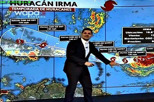 Puerto rico TV Irma