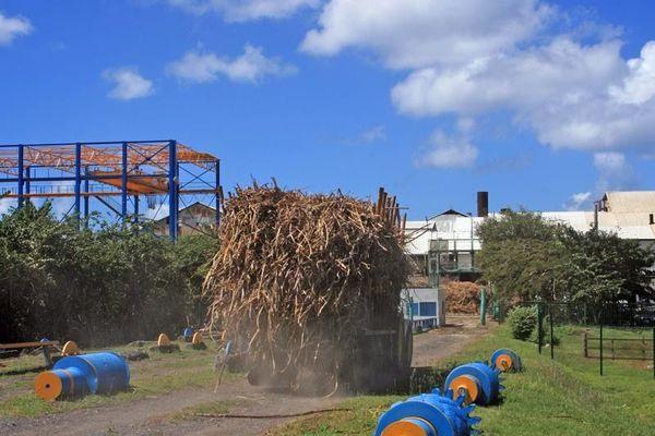 usine sucrière de Marie-Galante