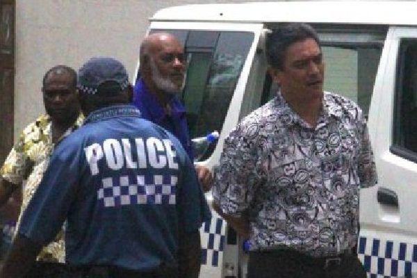 L'ancien Premier ministre, Moana Carcasses, l'un des 14 ex-députés condamnés pour corruption en 2015.