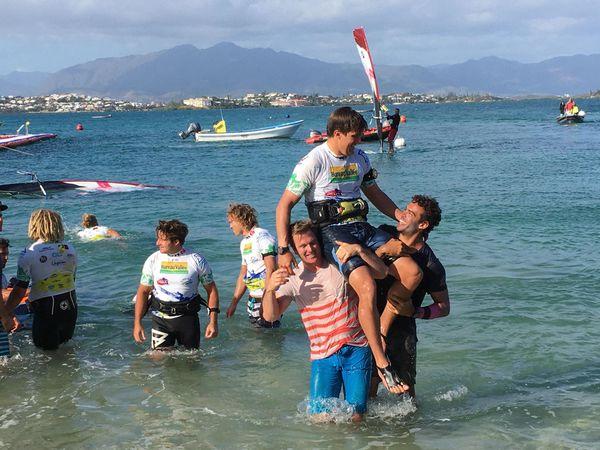 Vainqueur de la Bureau Vallée dream cup windsurf, 23 novembre 2019, Pierre Mortefon