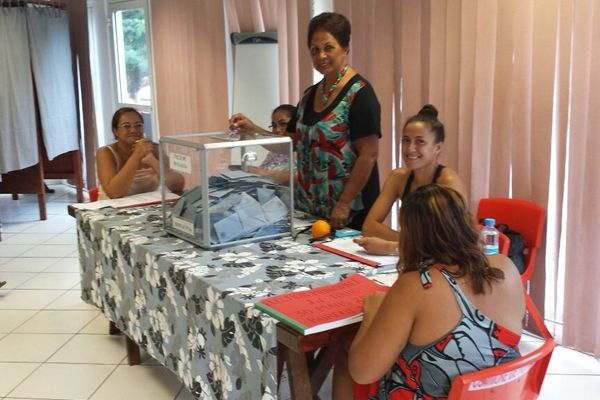 bureau de vote Punaauia elections