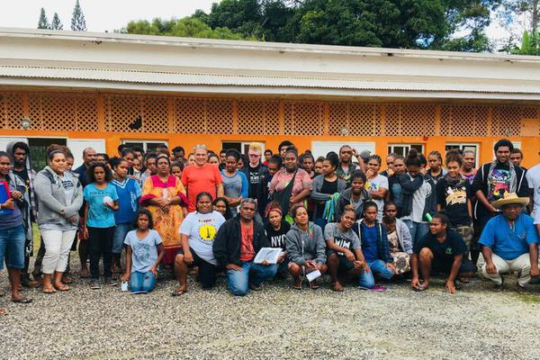 Pouébo: les élèves de la DEC