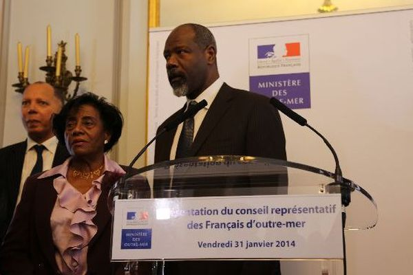 Sara Briolin, secrétaire générale adjointe et Jean-Michel Martial, vice-président du CREFOM