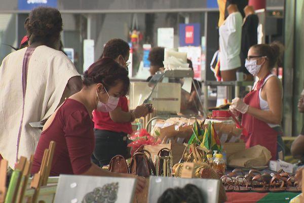 Marché artisanal de Matoury