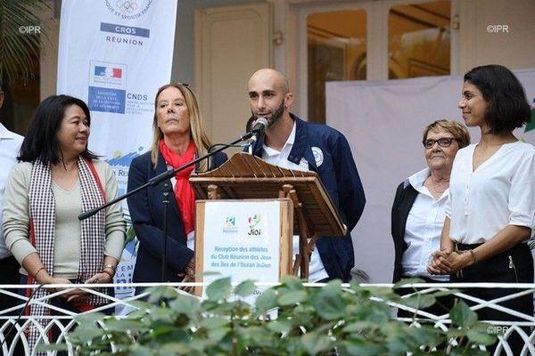 JIOI 2019 : Sébastien Maillot désigné porte-drapeau de la délégation Réunion à Maurice 060719