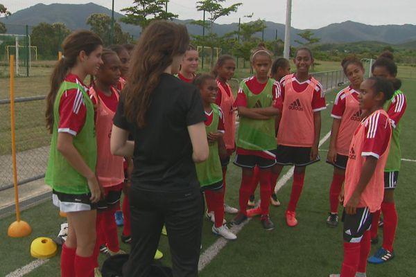 académie football féminin Calédonie