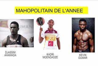 Nominés Mahopolitains 2018 : Djassim Ahamada & Kadri Moendadze & Kevin Oumar