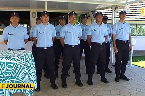 Les apprentis gendarmes en formation