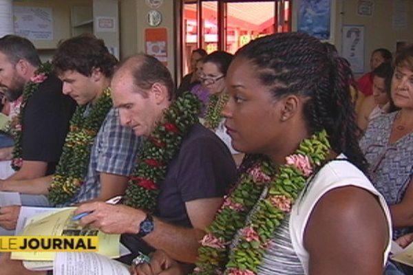 La rentrée des professeurs en Polynésie française