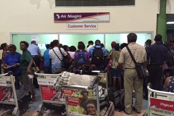 PNG grève aéroport