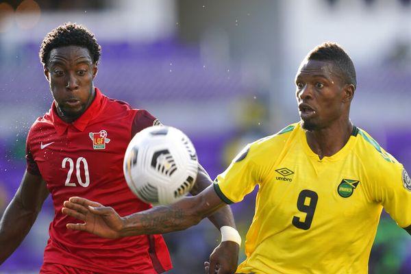 Gold Cup Match Guadeloupe Jamaïque