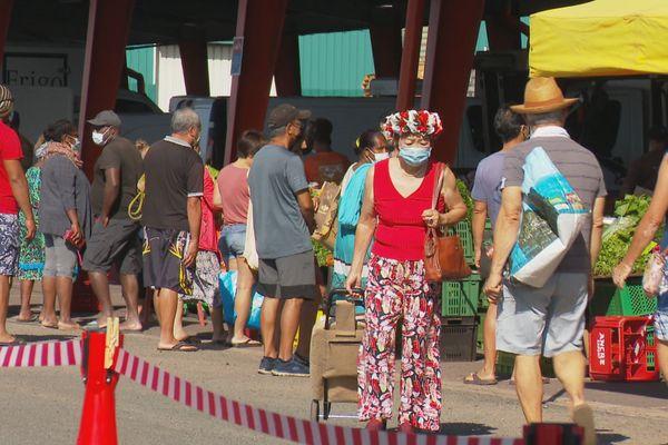 Réouverture marchés Nouméa 1