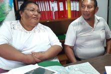 Rosita SABAYO et Antoine YUBITANA (frère et sœur), cheffe coutumière et son adjoint du village arawaka Cécilia, sont décédés samedi 21 août.