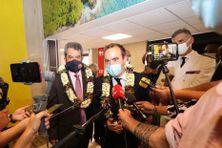 Sébastien Lecornu en visite officielle en Polynésie