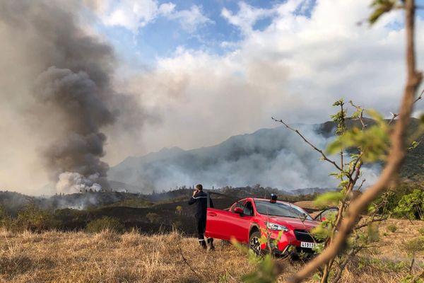 Incendie à la Tamoa