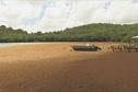 Les concentrations de particules fines contenues dans la brume de sable fertilisent les algues sargasses