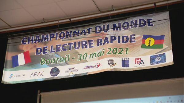 Championnat du monde de lecture rapide. Bourail 2021