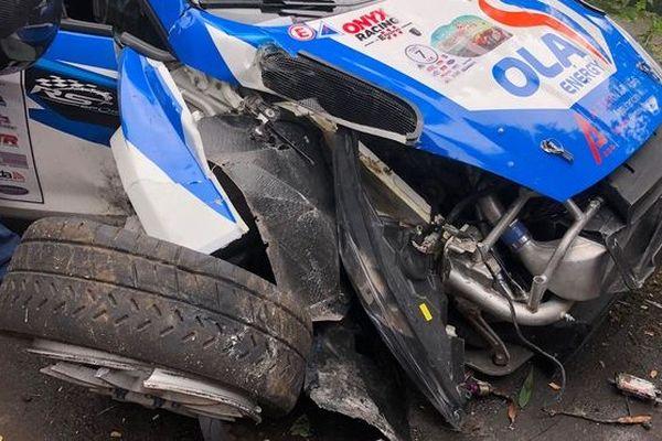Rallye Régionale 1ère manche Etang Salé voiture Farouk Mullan 060419