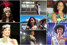Les miss d'Outre-mer avant le concours miss France
