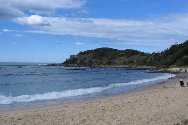 Shelly Beach Port Macquarie Australie
