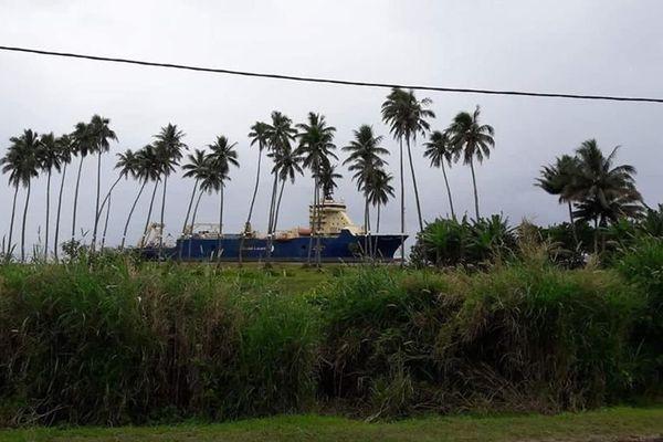 Câblier Île de Batz à Hitia'a