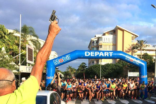 38e semi-marathon de Nouméa départ