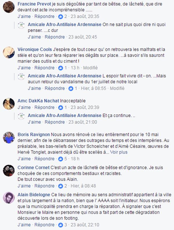 reac vol buste Aimé Césaire