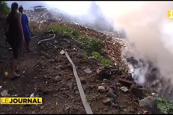 La mairie de Faa'a impuissante face à l'incendie de sa décharge